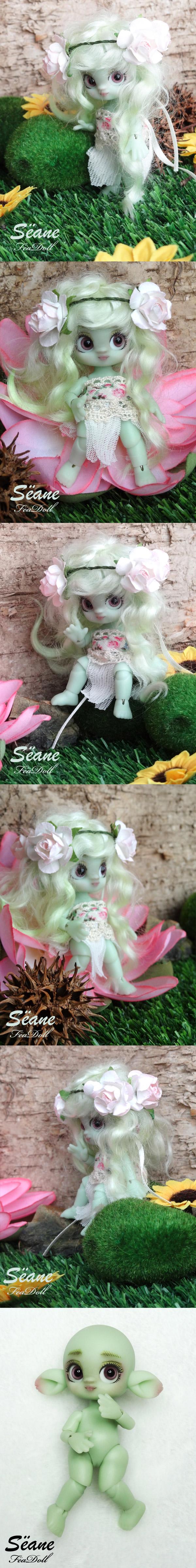 Sëane Green Skin Fullset  Little Flower