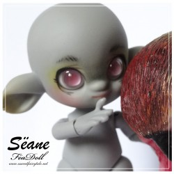 SOLD - Sëane - Grey Skin with makeup