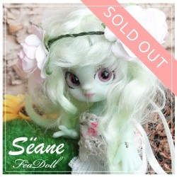 SOLD OUT Sëane - Green Skin Fullset Little Flower