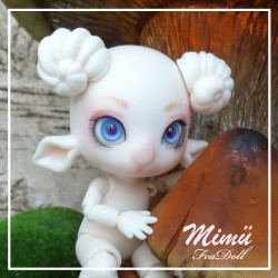 EN STOCK Tiny BJD Mimü Bélier Normal Skin
