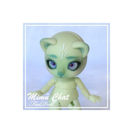 SOLD OUT Tiny BJD Mimü kitty cat white skin pre-ordered