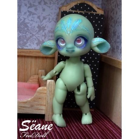 Sëane - Green Skin with makeup