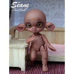Sëane - chocolate Skin with makeup