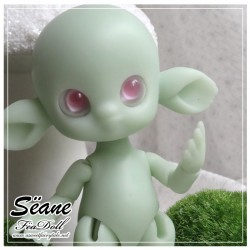 SOLD OUT Tiny BJD Sëane - Green Skin