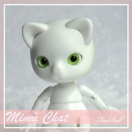 SOLD OUT Tiny BJD Mimü Chat white skin
