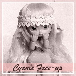 Cyanée - Option make-up