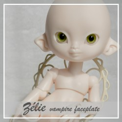 SOLD OUT  Tiny BJD Zélie elfe Peach