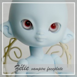 IN STOCK Tiny BJD Faceplate Zélie vampire or elfe