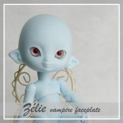 IN STOCK  Tiny BJD Zélie elfe Pastel bleu