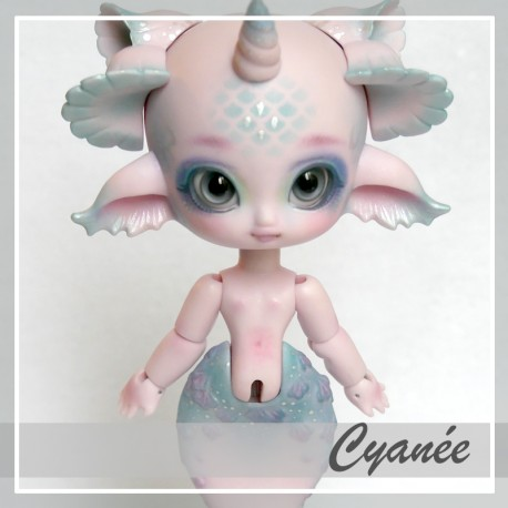 In Stock Bjd mermaid Cyanée Vanillia Pink custo