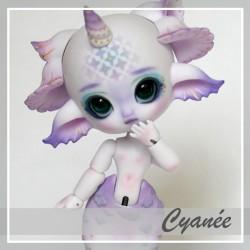 In Stock Bjd sirène Cyanée Vanillia Pink Custo