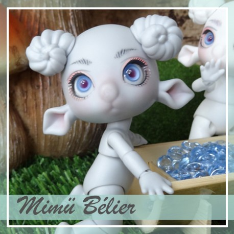 SOLD OUT Tiny BJD Mimü Bélier grey