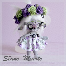 SOLD OUT Tiny BJD Sëane - Grey Skin Fullset Muerte
