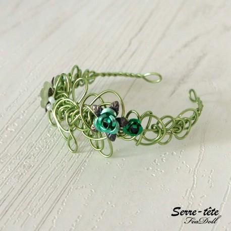 Headband for BDJ  5/6 to 7/8 Inch Apple green