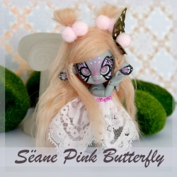 IN STOCK Sëane - Grey Skin Fullset bleu butterfly