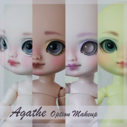 Option make-up for Agathe