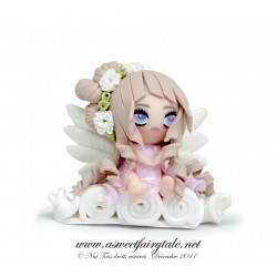 ange in polymer clay