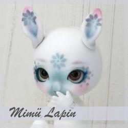EN STOCK  Tiny BJD Mimü Lapin blanc