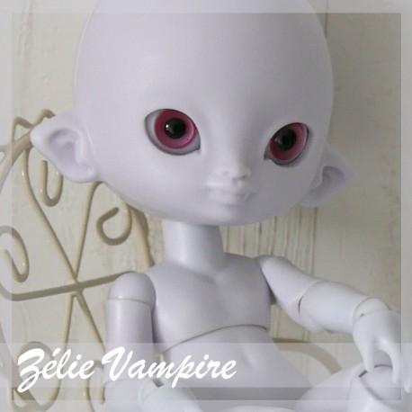 Tiny BJD Zélie vampire Faceplate évènement
